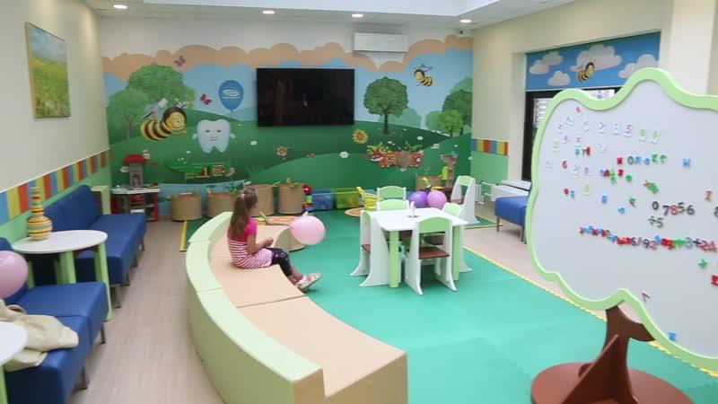 Открытие новой детской клиники на Парнасе