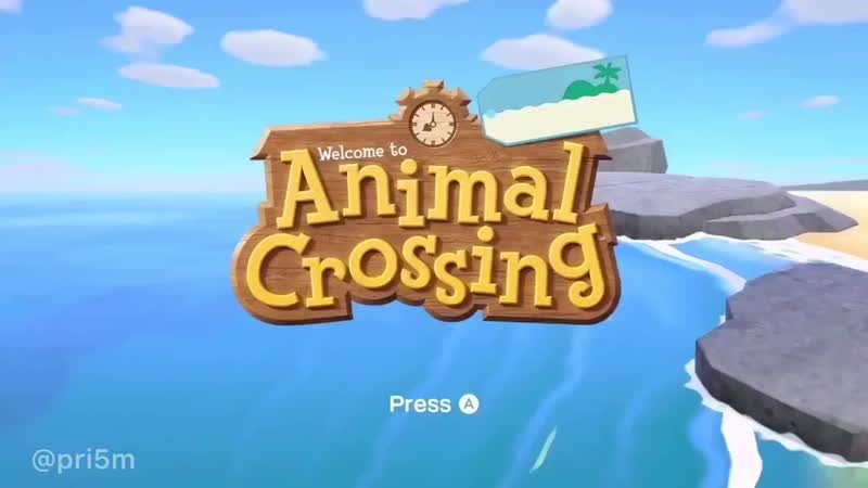 Tom Nook Your attention please Today Nook Inc will be releasing a special edition of Animal Crossing It is dedicated to our