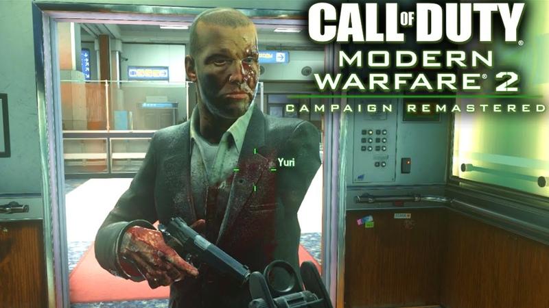 What Happens When You KILL SAVE Yuri In Modern Warfare 2 Remastered MW2 Yuri Easter Egg No Russian