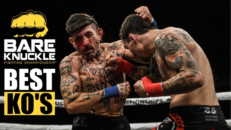 Unbelievable Knockouts Best KO's of Bare Knuckle Fighting